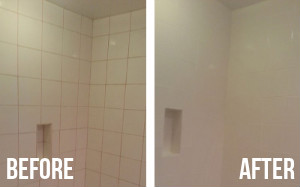 Bathroom Cleaning Before After